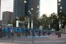 Aprovechando un congreso del móvil, la flashmob del 21/11 tuvo lugar en el Forum
