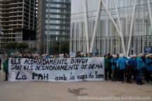 La PAH con los huelguistas