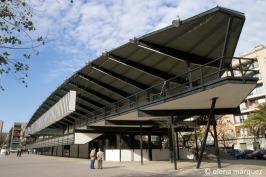El Canódromo Meridiana, obra de los arquitectos Antoni Bonet y Josep Puig Torné