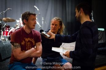 Carlos Pérez entrevista a Shane Perlowin y Ryan Oslance