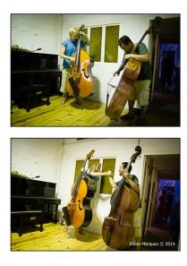 Un duo de bajos: Nästesjö/Kamaguchi