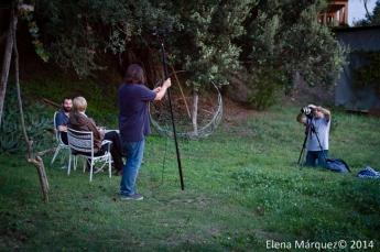 Durante el festival se está grabando un documental sobre la escena de improvisación de Barcelona